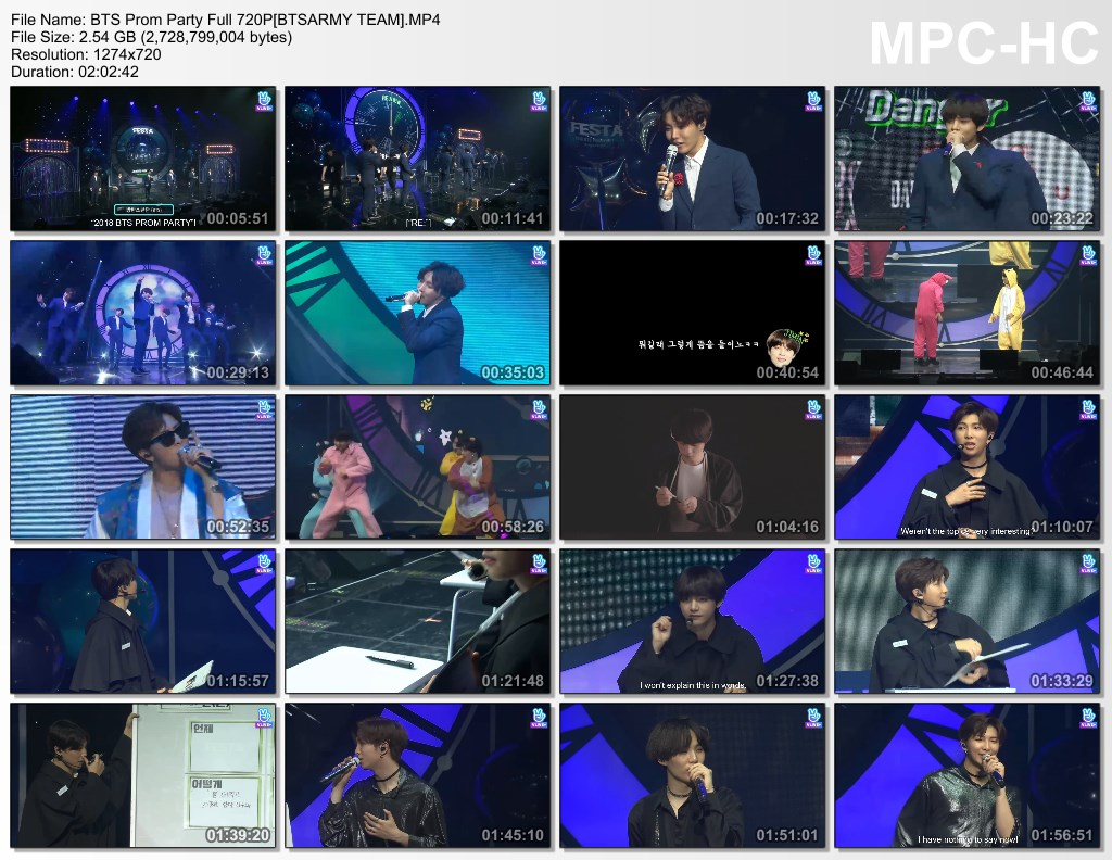 24aj bts prom party full 720p[btsarmy team].mp4 thumbs - VIDEO /LINK ]: BTS 2018  FESTA CEREMONY Prom Party Full]
